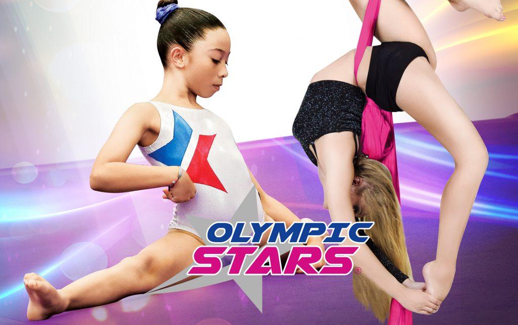 Danza Aerea en telas, Gimnasia Olimpica